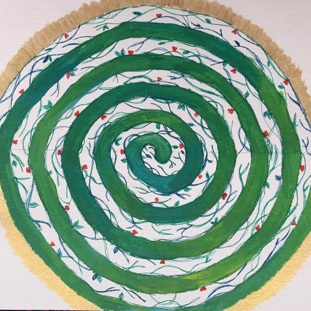 Mandala Doble Espiral